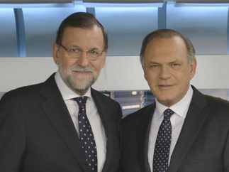 Rajoy y Piqueras