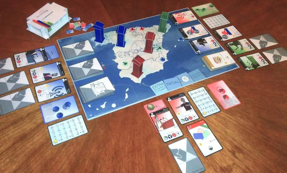 La pol tica espa ola llega a los juegos de mesa for La resistencia juego de mesa