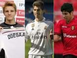 �degaard, Lucas Silva y Marco Asensio