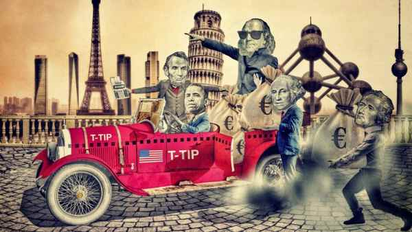 TTIP: el tratado secreto que negocian EE UU y Europa