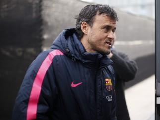 Luis Enrique, entrenador del F�tbol Club Barcelona