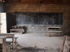 Escuela en Rep�blica Centroafricana