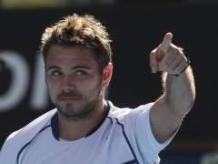 Stan Wawrinka, en el Open de Australia