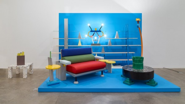 The Memphis Group (installation view, Koenig & Clinton, New York)