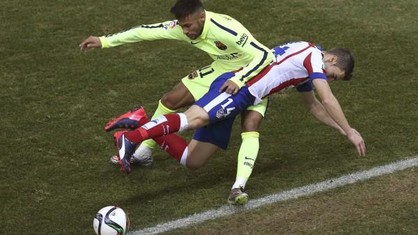 Gabi y Neymar