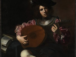 'The Lute Player', ca. 1626