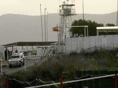 Base militar de la ONU en el L�bano
