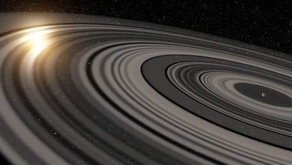 Sistema de anillos mayor que el Sistema Solar