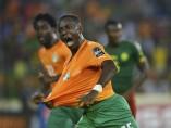 Gol de Costa de Marfil en la Copa África 2015