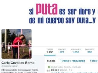 Campa�a contra el feminicidio en Quito