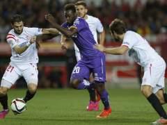 Caicedo en el Sevilla - Espanyol