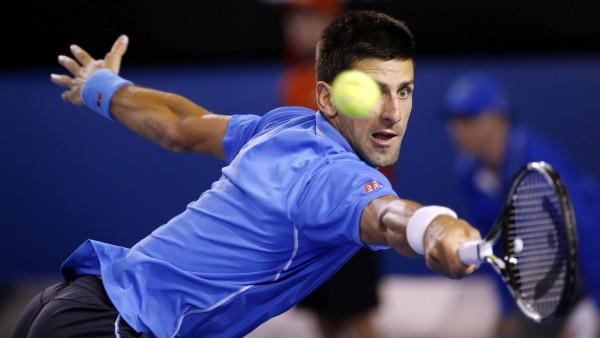 Novak Djokovic, en las semifinales de Australia 2015