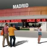 Proyecto del espacio de Madrid en Fitur 2015