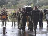 Funeral del soldado muerto en Líbano