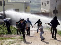 Protesta contra los asentamientos judíos en Cisjordania