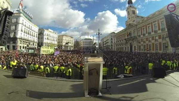 As te hemos contado en directo la marcha del cambio de for Puerta del sol en directo ahora