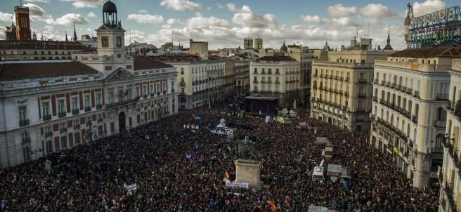 Panor�mica de la Puerta del Sol