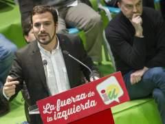 Los militantes de IU apoyan la lista de Garzón para dirigir el partido