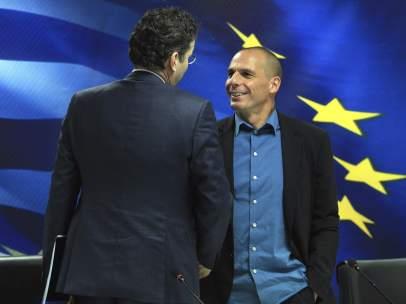 Reuni�n entre Atenas y el Eurogrupo