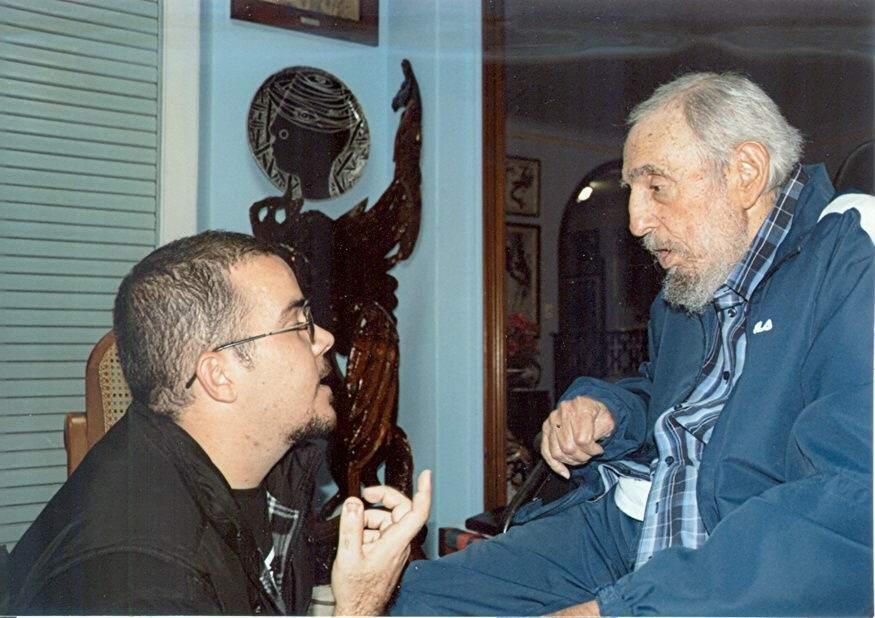Primeras fotos de Fidel Castro en seis meses