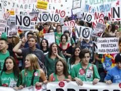 Hora y recorrido de las manifestaciones contra la Lomce