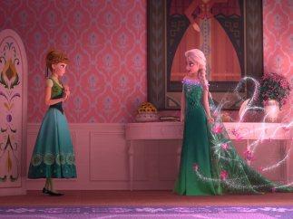 Anna y Elsa de Frozen
