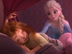 Elsa y Anna en Frozen Fever