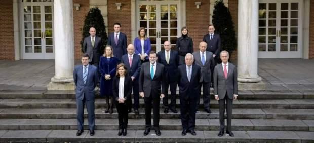 Rajoy y sus ministros