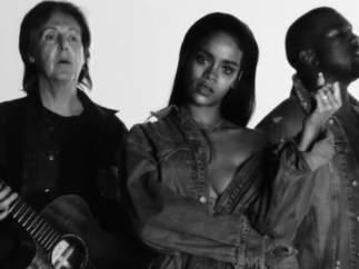Rihanna, Paul McCartney y Kaney West