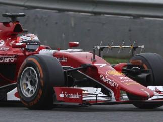 El Ferrari, en Jerez