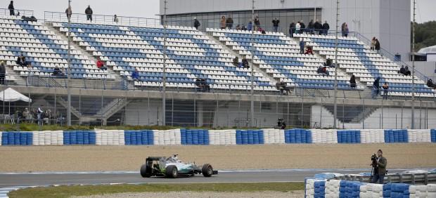La ocupación hotelera se reduce un 45% en Jerez por la ausencia de la Fórmula 1
