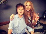 Lady Gaga y Paul McCartney
