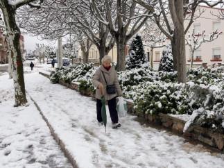 Nieve en Cataluña
