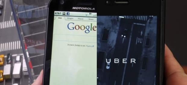 Google y Uber, de socios a ir camino de una 'colisión frontal'