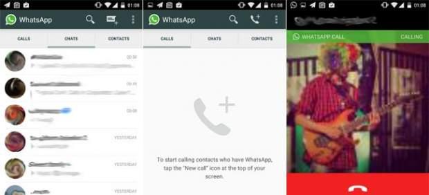 Llamadas desde WhatsApp: ¿es esta la nueva interfaz que permite hacerlas?