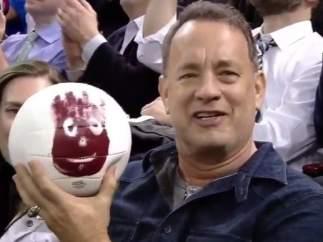 Tom Hanks y Wilson