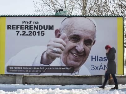 Cartel referéndum Eslovaquia