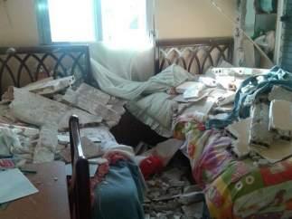 Explosión en una vivienda