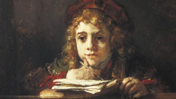 Titus at his desk, Rembrandt Harmensz. van Rijn, 1655
