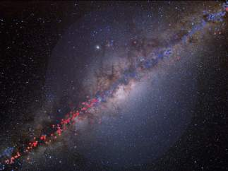 Materia oscura en la Vía Láctea