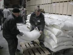 Ayuda humanitaria en Donetsk