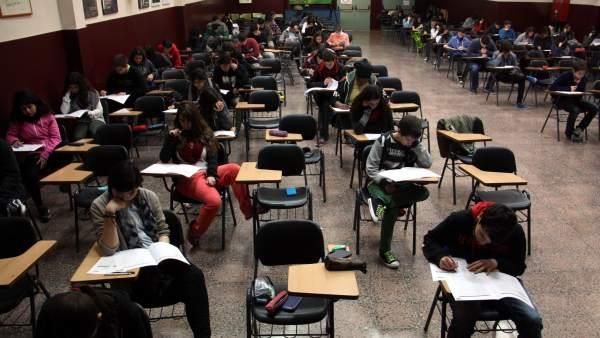 Los alumnos de cuarto de ESO realizan las primera pruebas de ...