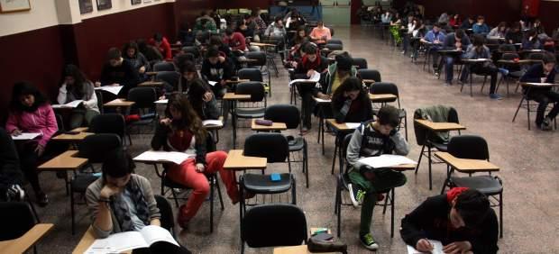 Cuarto De Eso   Los Alumnos De Cuarto De Eso Realizan Las Primera Pruebas De