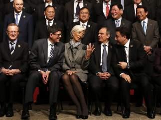 Lagarde y el G-20