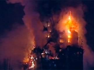 Diez años del incendio del Windsor