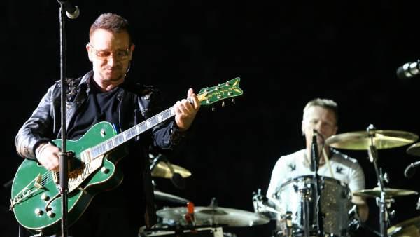 U2, en concierto