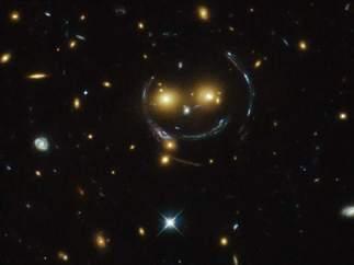 Un 'smiley' en el espacio