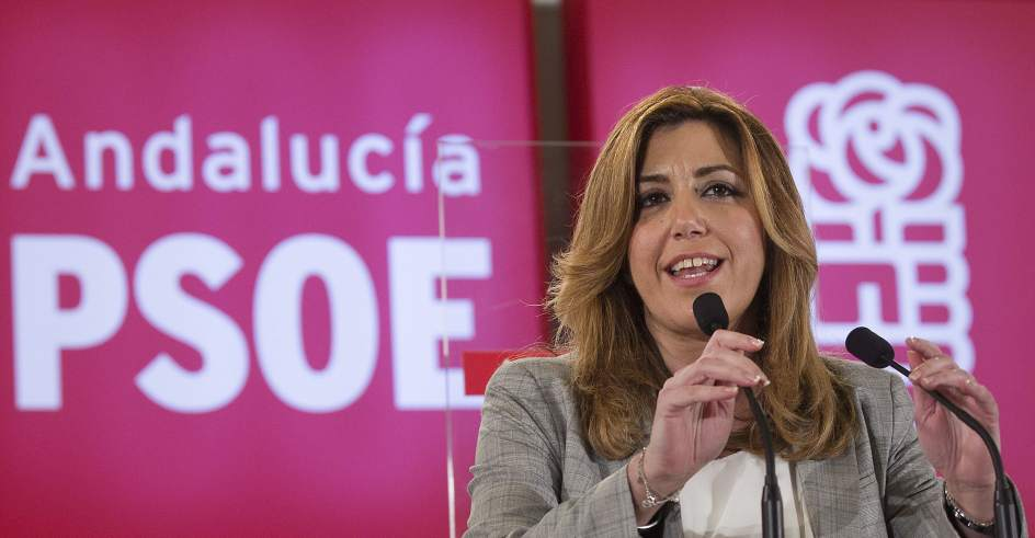 Susana Díaz, la actual presidenta