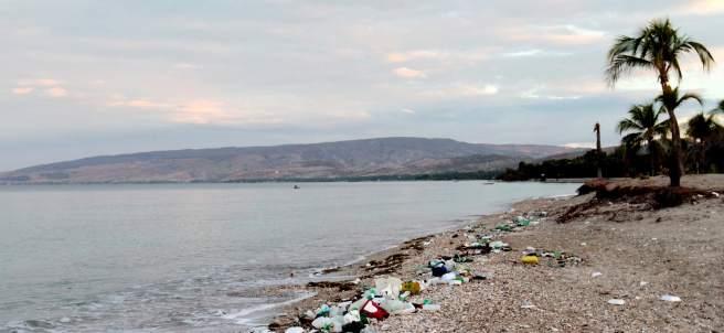 Plásticos en el mar