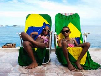 Rich on the beach, 2009